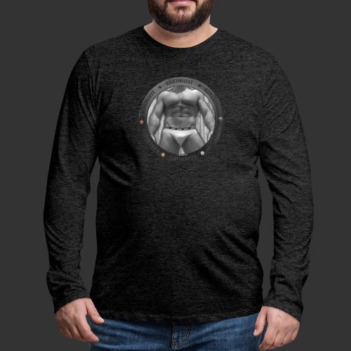 Bullauge meets Bärenlust - Männer Premium Langarmshirt