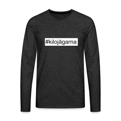 #kilo - Långärmad premium-T-shirt herr