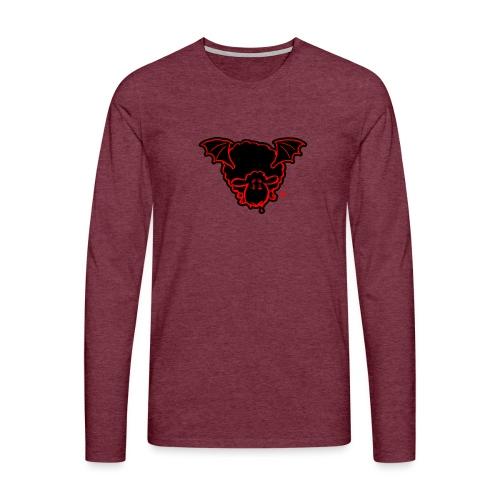 Vampire Sheep (red) - Männer Premium Langarmshirt