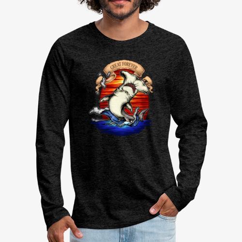 König des Ozeans - Männer Premium Langarmshirt