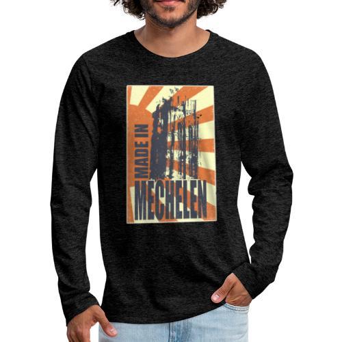 Made In Mechelen - Mannen Premium shirt met lange mouwen