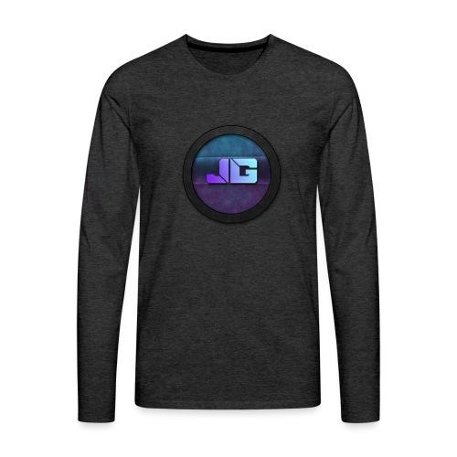 shirt met logo - Mannen Premium shirt met lange mouwen