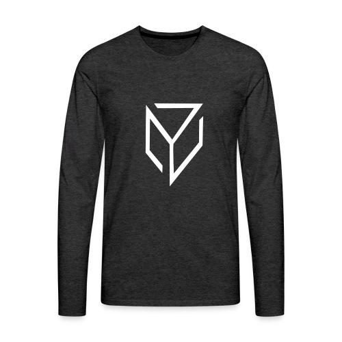 Logo Team Vanadium (YouTube) - T-shirt manches longues Premium Homme
