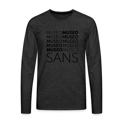 museo sans - Men's Premium Longsleeve Shirt
