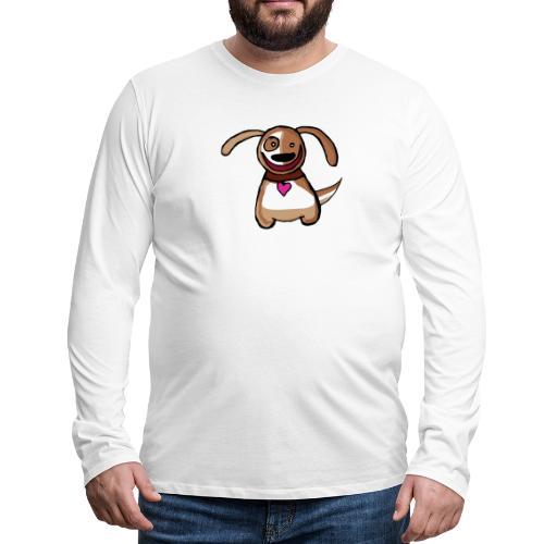Titou le chien - T-shirt manches longues Premium Homme