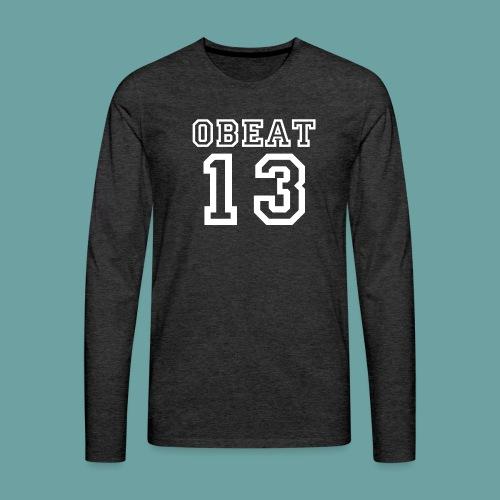 Obeat Limited Edition - Mannen Premium shirt met lange mouwen