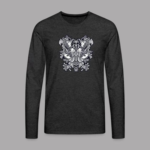moth black - Men's Premium Longsleeve Shirt