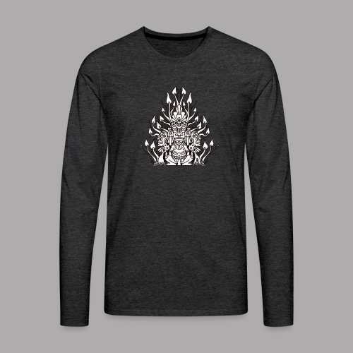 Shroomy man black - Men's Premium Longsleeve Shirt