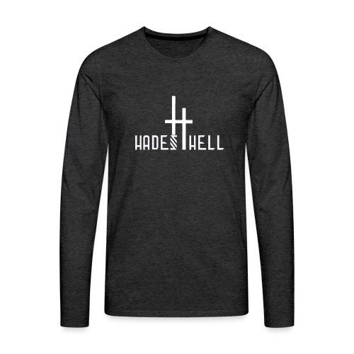 Hadeshell-white - Männer Premium Langarmshirt
