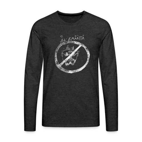 Mättää black - Långärmad premium-T-shirt herr