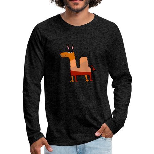 Tod le dromadaire - T-shirt manches longues Premium Homme