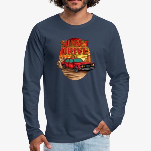 Sunset Drive - Männer Premium Langarmshirt