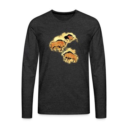Wisente - Männer Premium Langarmshirt