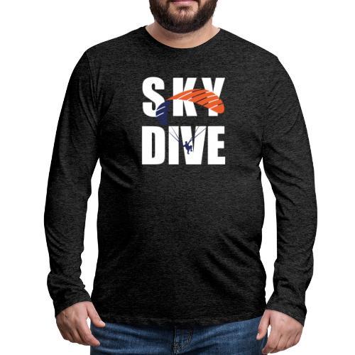 SkyDive - Männer Premium Langarmshirt