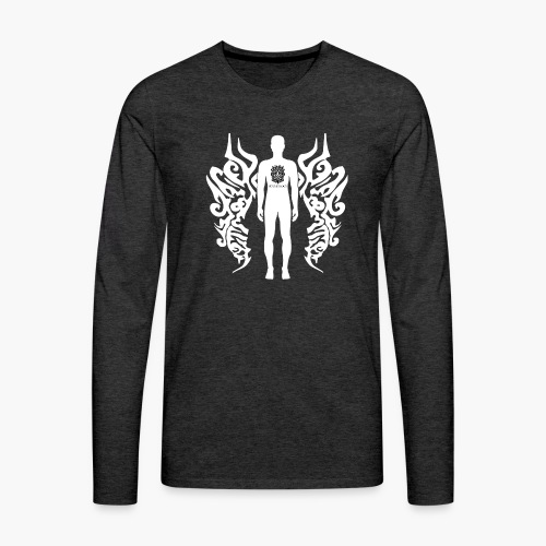 Houseology Original - Angel of Music - Men's Premium Longsleeve Shirt