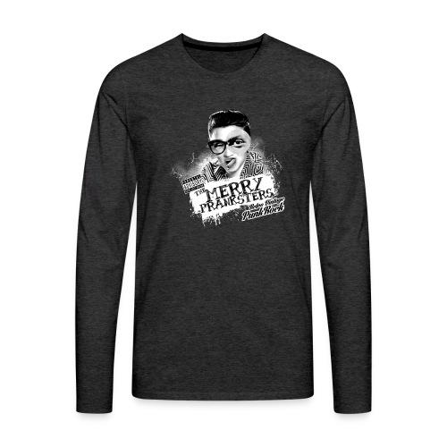The Merry Pranksters - Woman Black T-Shirt - Men's Premium Longsleeve Shirt