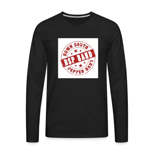 DSP band logo - Men's Premium Longsleeve Shirt