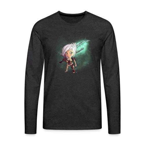 Chibi Riven - Maglietta Premium a manica lunga da uomo