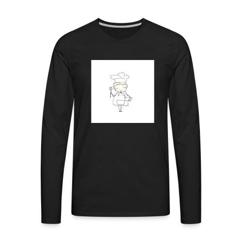 Maglietta 1 - Maglietta Premium a manica lunga da uomo