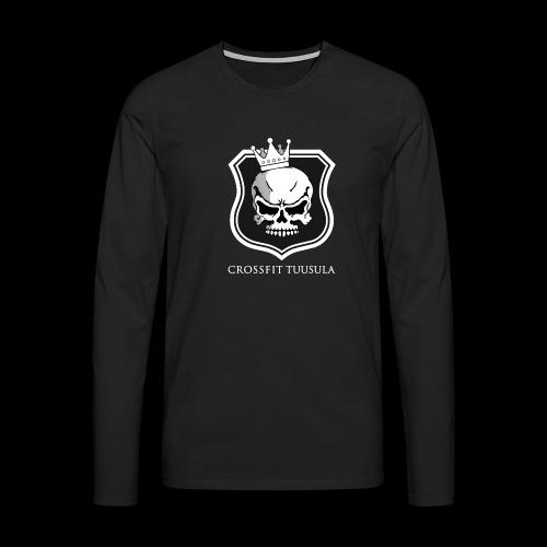 CrossFit Tuusula BW - Miesten premium pitkähihainen t-paita