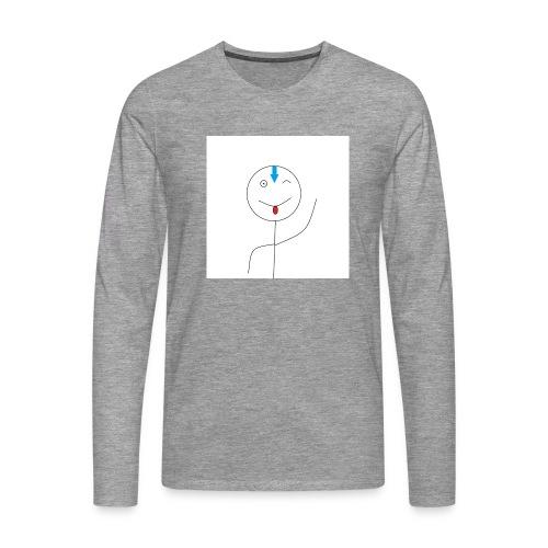 avatar stick man cover 6/6s - Herre premium T-shirt med lange ærmer