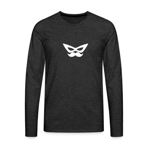 Spiffefrpath_logo - Långärmad premium-T-shirt herr