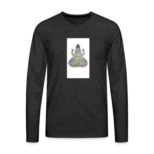 lotus - Camiseta de manga larga premium hombre