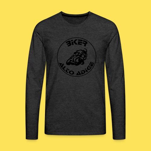 BikerAltoAdige Circle - Maglietta Premium a manica lunga da uomo