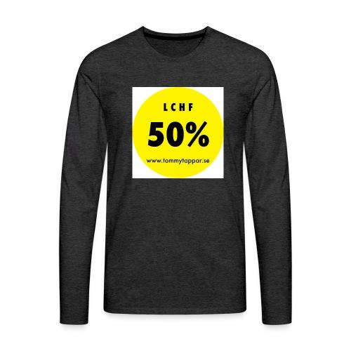 knapp 50 3 - Långärmad premium-T-shirt herr