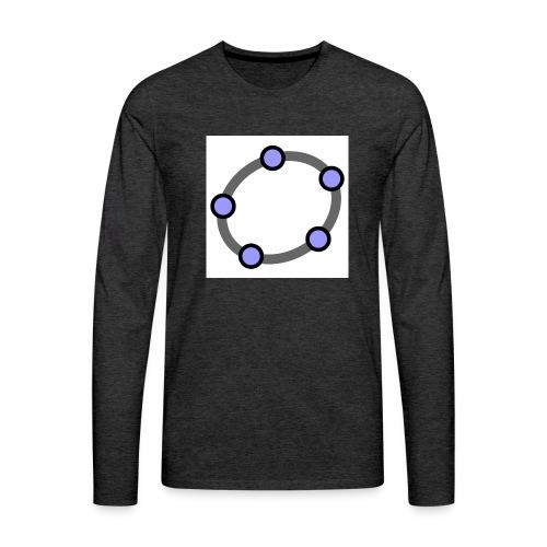GeoGebra Ellipse - Men's Premium Longsleeve Shirt