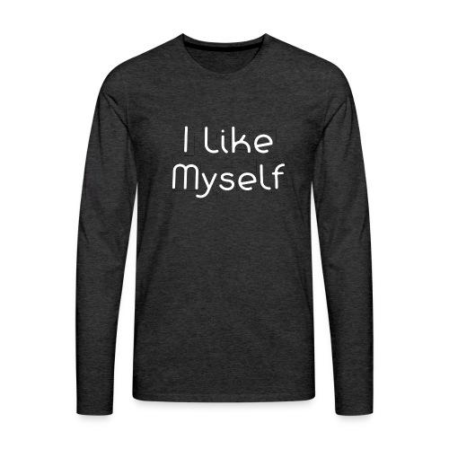I Like Myself - Maglietta Premium a manica lunga da uomo