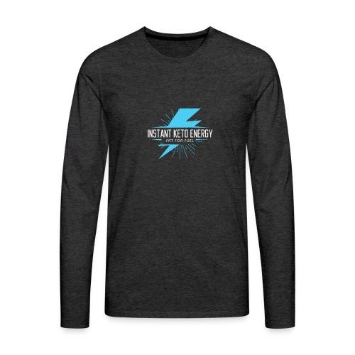 KETONES - Instant Energy Tasse - Männer Premium Langarmshirt
