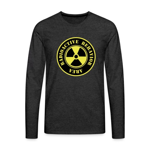 Radioactive Behavior - Camiseta de manga larga premium hombre