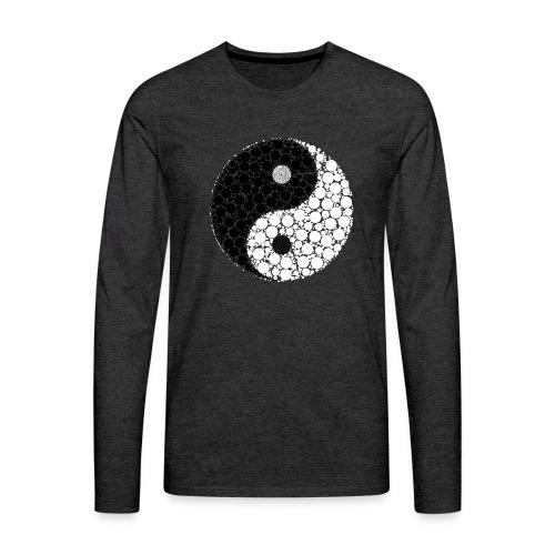 Yin/yang - Männer Premium Langarmshirt