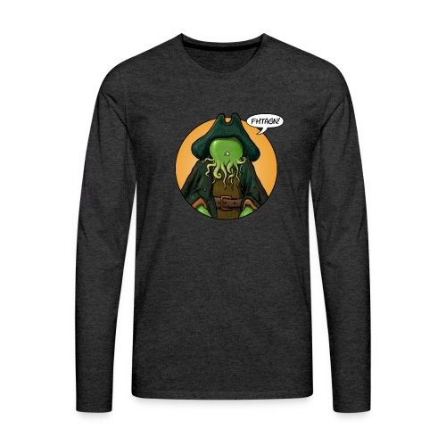 Cthulhoo Davy - T-shirt manches longues Premium Homme