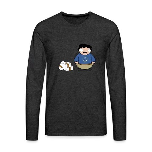 Pablito. - Camiseta de manga larga premium hombre