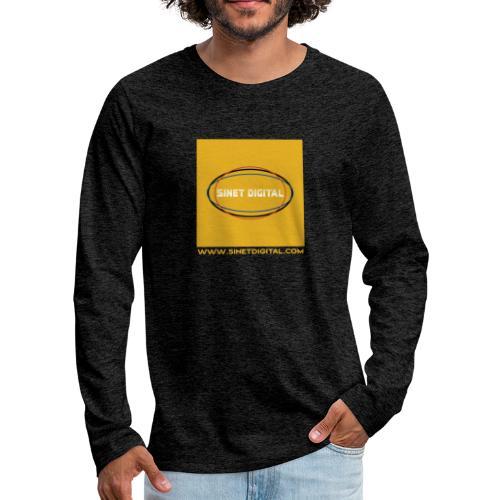 SINET DIGITAL - T-shirt manches longues Premium Homme