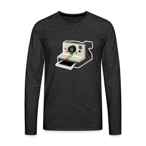 Polaroid 1000 kawaii - T-shirt manches longues Premium Homme