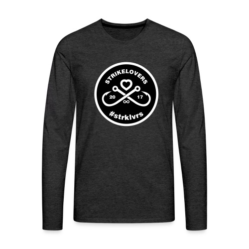 StrikeLovers Circle Vector - Männer Premium Langarmshirt