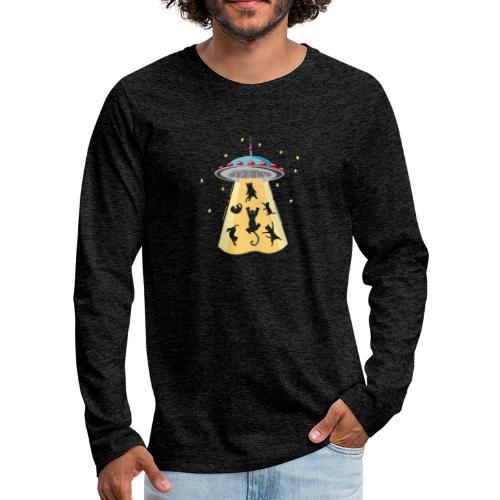 EXTRA CAT - T-shirt manches longues Premium Homme