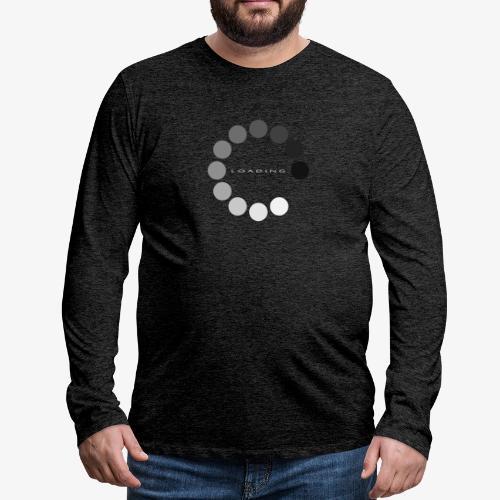 loading 1 - Koszulka męska Premium z długim rękawem