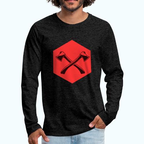 Hipster ax - Men's Premium Longsleeve Shirt