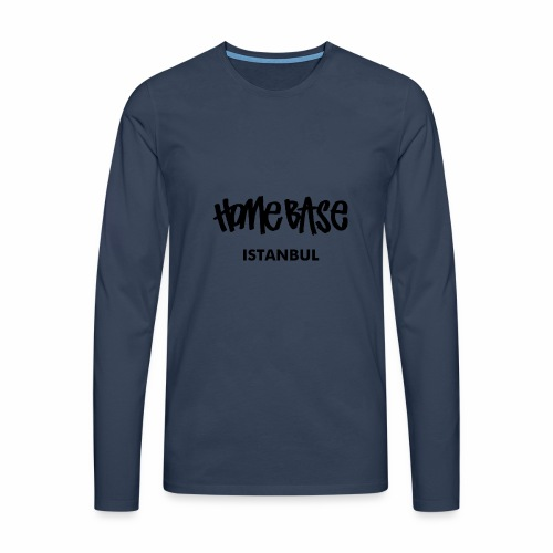 Home City Istanbul - Männer Premium Langarmshirt