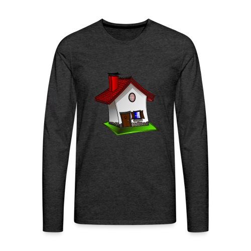 Haus - Männer Premium Langarmshirt