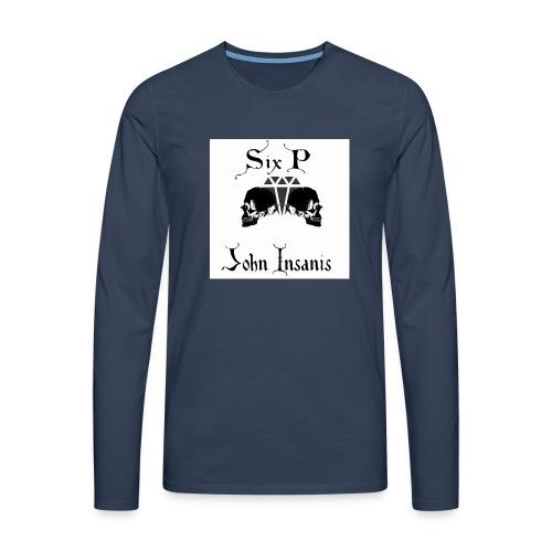Six P & John Insanis New T-Paita - Miesten premium pitkähihainen t-paita