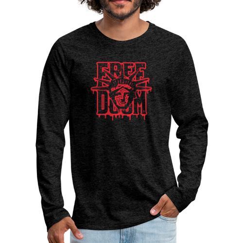 Freedoom - Långärmad premium-T-shirt herr