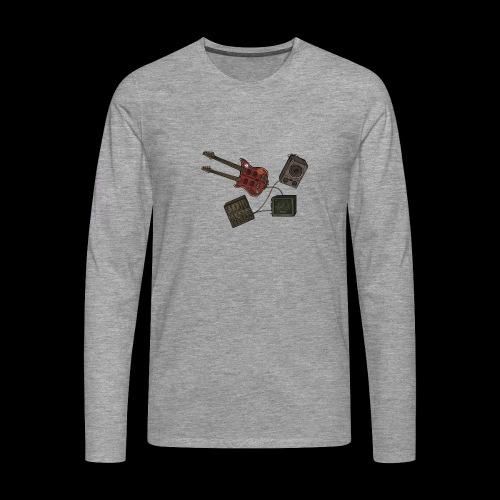 Music - Men's Premium Longsleeve Shirt