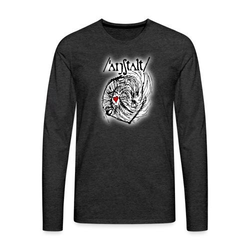 wesen mit herz und logo - Männer Premium Langarmshirt