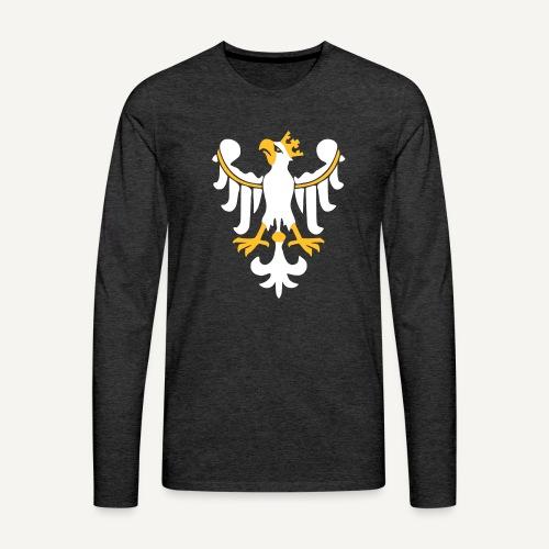 Orzeł Piastowski - Koszulka męska Premium z długim rękawem