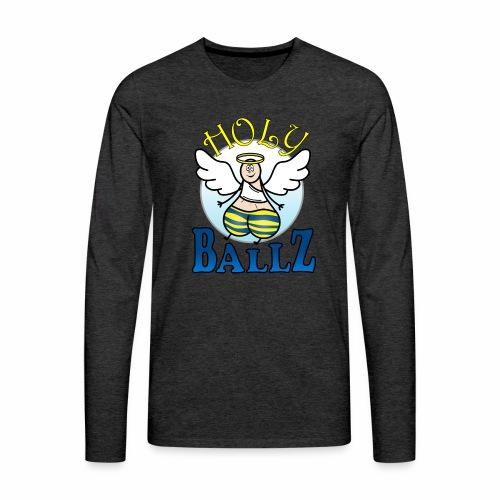 Holy Ballz Charlie - Men's Premium Longsleeve Shirt